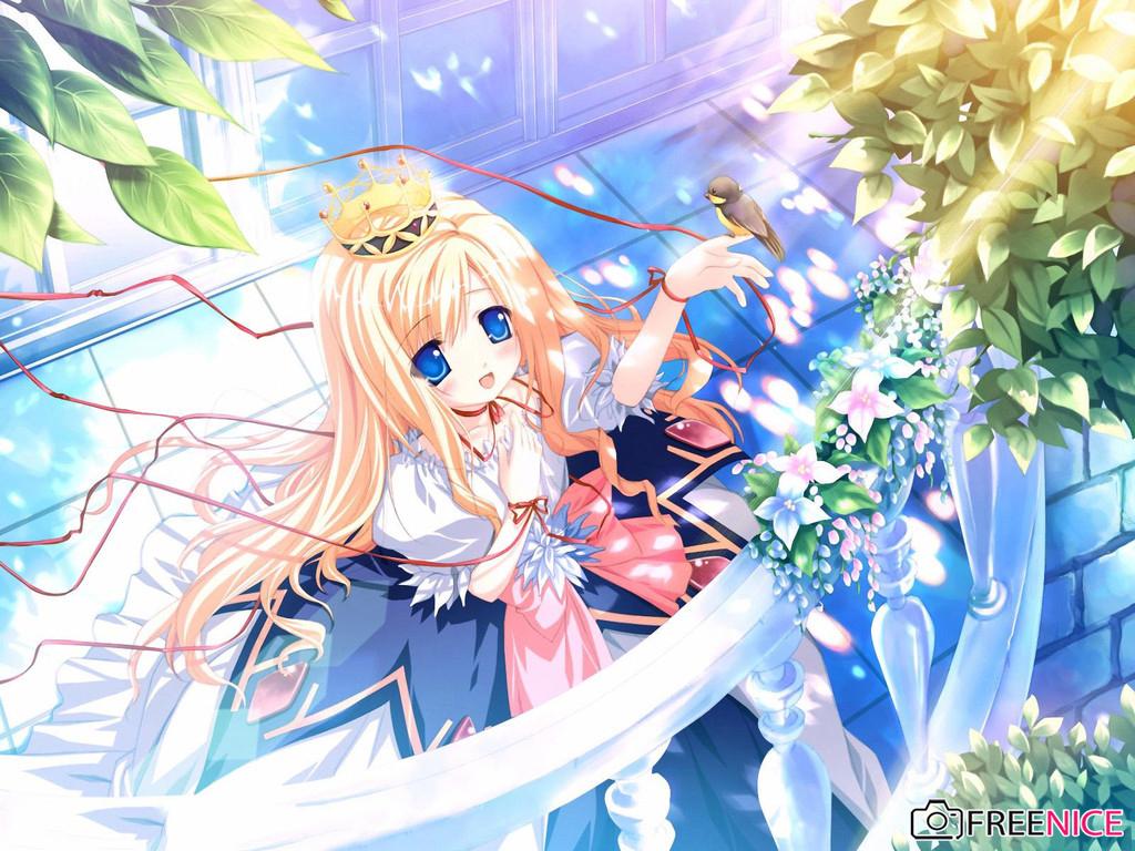 Khám phá những hình ảnh công chúa anime xinh đẹp, quyến rũ nhất